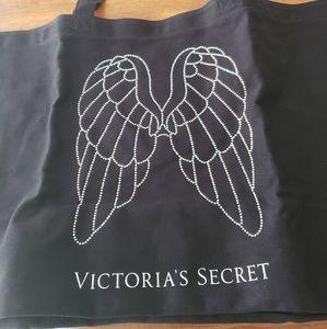 Victoria's Secret Canvas Rhinestone Tote
